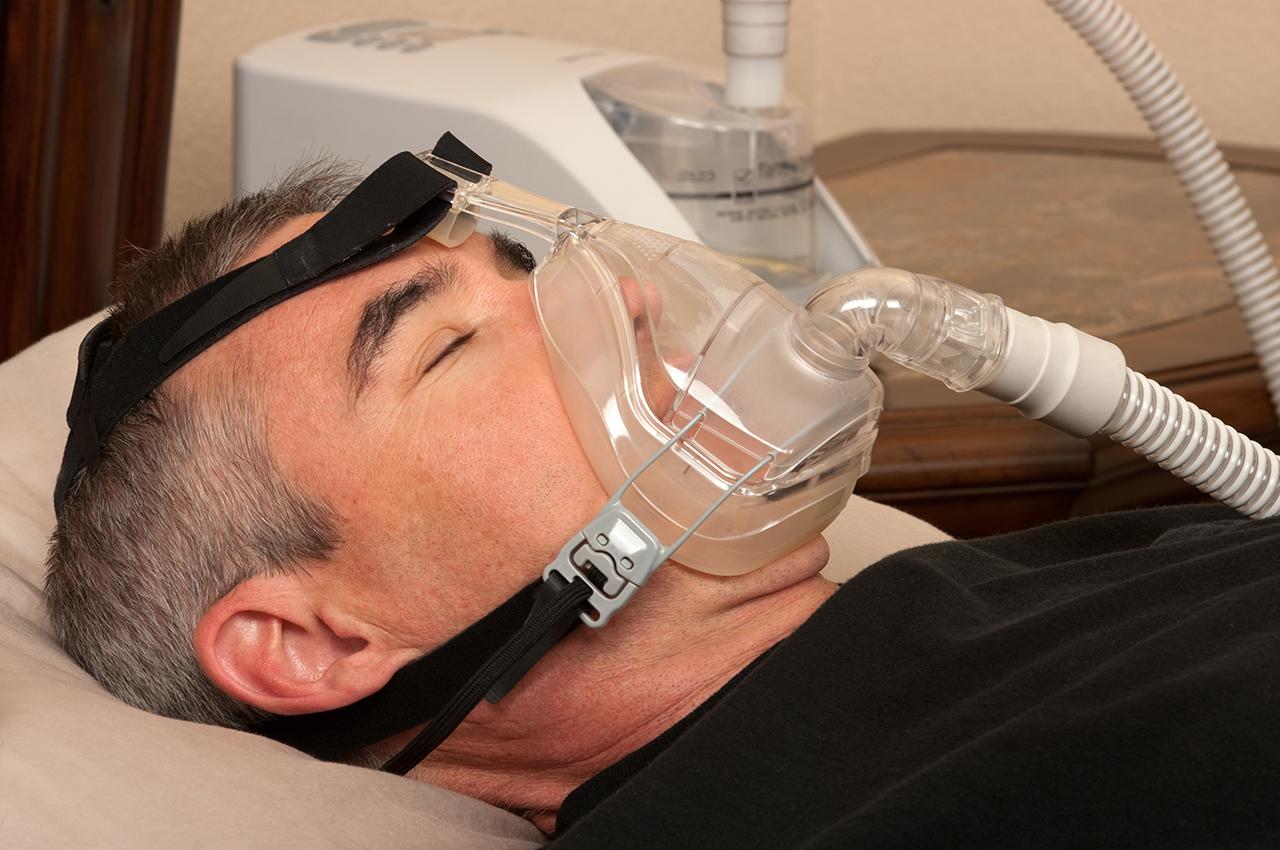 Schlafapnoe.com: CPAP Maske